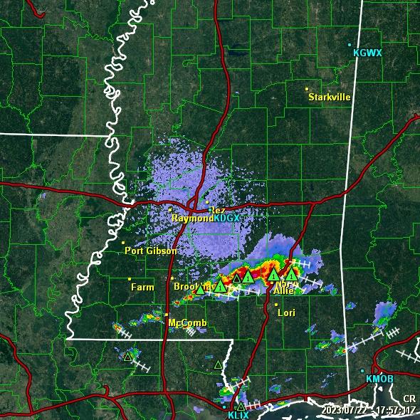 N5PA Website - GRLevel3 Radar